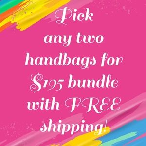 Handbag Bundle Deal!